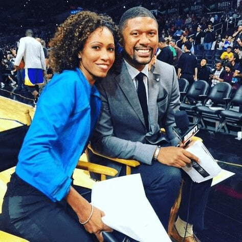 With Jalen Rose.