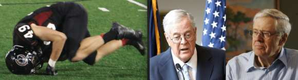 Concussions, Koch Brothers: Bad stuff, great journalism
