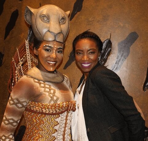 With Heather Headley, right, the original Nala