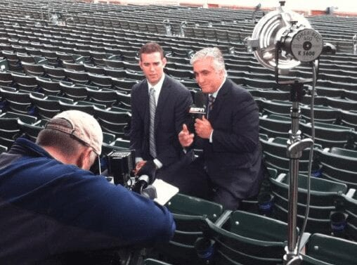 With Theo Epstein
