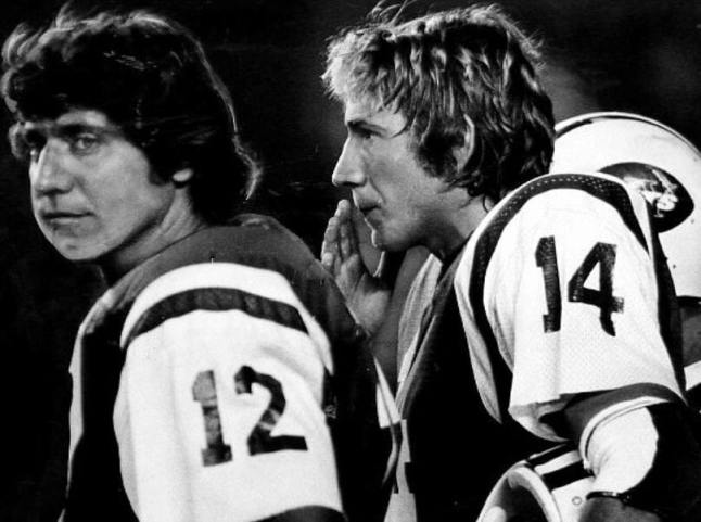 Namath and Todd. Like caviar and canned tuna.